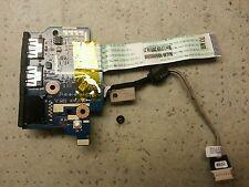 Genuine OEM Acer Aspire 5534 Dual USB & Ethernet Port Board W/ Ribbon LS-5402P