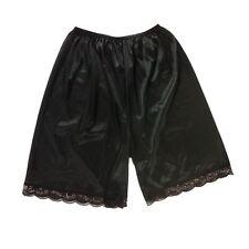 PTP02 Black New Nylon Slips Underwear Lingerie undergarment Women Men Knickers
