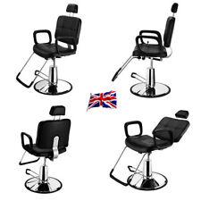 UK Adjustale Hydraulic Reclining Barber Chair Salon Beauty Hairdressing Lumbar