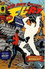 1963 Buch 2 niemand entgeht der Wut bei weckt den Krieg-Beast Alan Moore Bissette