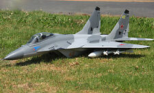 LX 1.5M MIG29 RC KIT Jet Plane Model Twin 70MM EDF EPS W/O Battery & Radio ESC