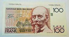 ==>> Belgium 100 Francs, 1978-1981 P-140a UNC Belgique Belgïe RARE <<====