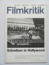 Critique NR 232, avril 1976, Hollywood, Ingrid Bergmann, salvadori Dali