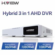 CCTV DVR 8CH AHD DVR NVR 1080P HDMI Video Output Support Analog AHD IP Camera