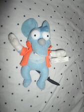 "Nanco SIMPSONS NANCO ITCHY MOUSE 9"" Plush Soft Toy Stuffed Animal"