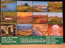 Insel Pellworm , Uthlande , Insel Nordstrand , Ansichtskarte