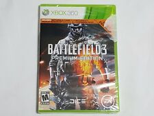 NEW (w/ WEAR) Battlefield 3 PREMIUM EDITION XBox 360 Game SEALED US NTSC