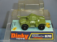 DINKY TOYS MODEL No 676    DAIMLER ARMOURED PERSONNEL CAR     MIB