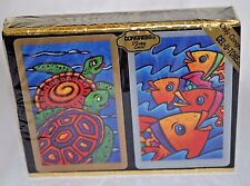 Congress Turtles and Tropical Fish Playing Cards