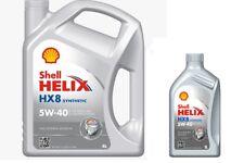 Kit cambio olio 5 litri Shell Helix HX8 5w40 barattolo 4 L + barattolo 1 L