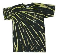 Loser Machine Mens Good Times Tie Dye Short Sleeve T-Shirt Black Spuff S New