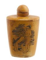 Bottiglia Bottiglietta Boccetta Arte Shunga Erotico Raro - 3481 K 73