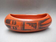 Make Offer !!! NAMPEYO Era HOPI-TEWA Redware Pottery Bowl - Circa approx. 1905