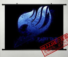 Anime FAIRY TAIL Home Decor Poster Wall Scroll Collection of gifts 60*40cm h3h3