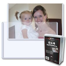 Postcard / Photo Topload Holders 6 x 4 Pack of 25 BCW Crystal Clear Free US Post