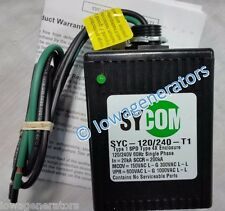 Type 1 SYCOM WHOLE HOUSE LIGHTNING AC SURGE PROTECTOR SYC-120/240V-T1 FactoryNew