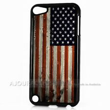 ( For iPod Touch 6 ) Back Case Cover AJ10226 American Flag