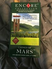 """New listing Woodstock Chimes Of Mars Bronze Wind Chimes, Total Hanging Length 17"""" #dm"""