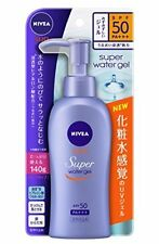 NIVEA Sun Protection Water GEL Spf50 PA Pump 140g Sunscreen Face Body