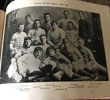 University of Georgia 1892 -93 Yearbook 2nd GA Bulldogs Football Team 125 years