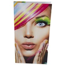 Mobile Salon Therapist Appointment Book Diary 3-6 Columns Image RAINBOW Hair