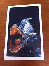 James Bond Postcard - Octopussy - Bond & Q's Crocodile Mini-Submarine - NEW