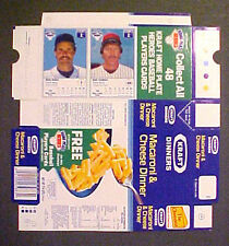 1987 Mike Schmidt~Wade Boggs NEVER~FOLDED KRAFT HOME PLATE BOXES Baseball Cards