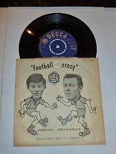 "ROBIN HALL & JIMMIE MACGREGOR - Football Crazy - Scarce 1960 UK 7"" vinyl single"