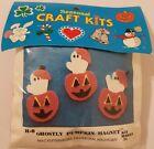 Ghostly Pumpkin Magnet Halloween Kids' Felt Craft Project Kit Mac Enterprises