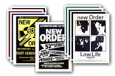 NEW ORDER  - 10 promotional posters  collectable postcard set # 2