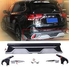 For Mitsubishi Outlander 2013-2016 Auto 2pcs Front+Rear Protector Bumper Bars