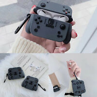 Game Console Earphone Cover Silicone Protective Storage Case for Airpods 1/2/3