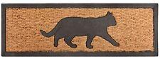 Bienvenue chat paillasson tapis de sol coco intérieur/extérieur chat amoureux cadeau les propriétaires d'animaux de compagnie