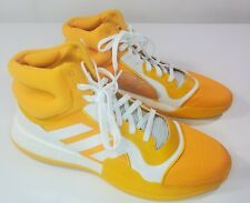Adidas SM Marquee Boost Team G28756 Basketball Shoes Men Size 18 New Yellow