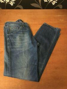 Men's Tommy Hilfiger Denton Straight Fit Stretch Jeans Size 36W/32L