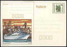 Alemania Década De 1990 30pf Arkona barco tarjeta de papelería #C34883 sin usar
