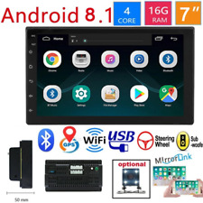 Android 8.1 2 Din Car radio Multimedia Video Player Universal auto Stereo GPS