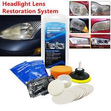 14x Universal Car Headlight Lens Restoration Kit Restorer System Polishing Tool