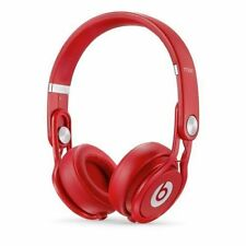 Beats by Dr. Dre Mixr Headband Headphones-Red