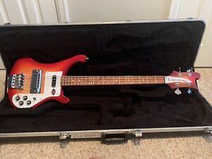 Rickenbacker 4003S Bass Fire Glow With Case Mint