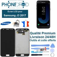 Écran complet LCD + Tactile Samsung J3 2017 Noir Qualité OLED + Outils, stock FR
