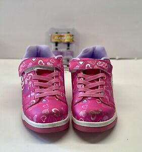 Girls' Heeleys Hot Pink, Size 4. Scuffed Toe