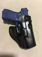 Leather CROSS DRAW Holster - GLOCK 19 / 23 (# 7719 BLK )