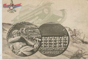1938 PROPAGANDA FASCISMO 4 REGGIMENTO CARRISTA