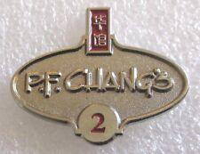 P.F. Chang's Restaurant Employee 2 Years Service Award Pin