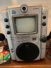 New listing The Singing Machine Stvg-500 Vision Karaoke Machine Near Mint-2 Mics