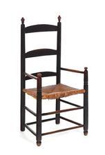 American Ladder-Back Armchair. Lot 363