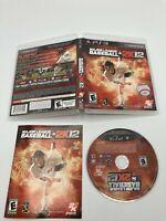 Sony PlayStation 3 PS3 Tested CIB Complete Major League Baseball 2K12 Ships Fast