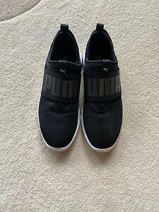 PUMA Dare Black/White Slip On Women's Sneakers - Size 8 New 365901-01