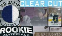 UD - Game Jersey / Rookie Materials / Clear cut acetate / Exclusives/ YOU PICK !